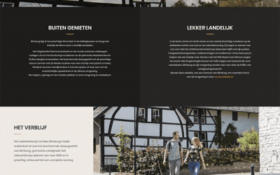 Verouderde website